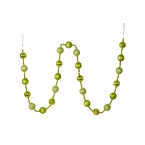 Ivy Ball Garland 6' Lime