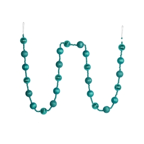 Ivy Ball Garland 6' Teal