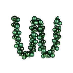 Jolie Ball Garland 6' Emerald