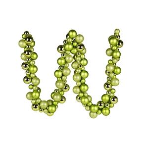 Jolie Ball Garland 6' Lime
