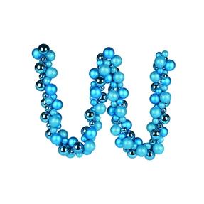 Jolie Ball Garland 6' Turquoise