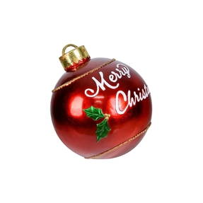 Merry Christmas Ball Ornament 17""
