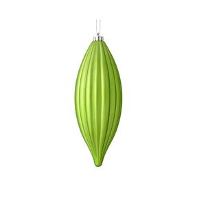 """Victoria Drop Ornament 8"""" Set of 4 Celadon"""