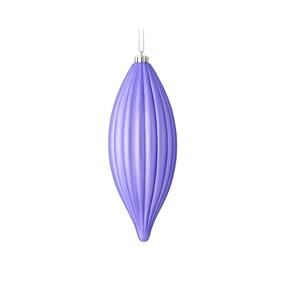 """Victoria Drop Ornament 8"""" Set of 4 Lavender"""