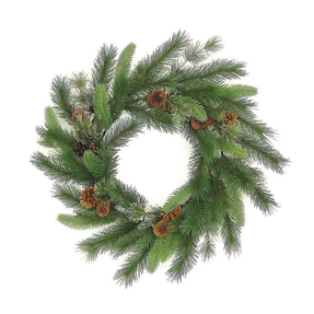 Mountain Pine Wreath 24""