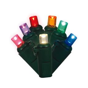 LED Twinkle 200 Lights Set Multi Colored