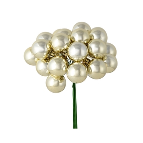 Joy Shiny Ball Pick Set of 2 Champagne