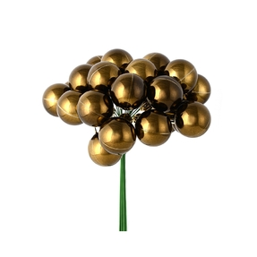 Joy Shiny Ball Pick Set of 2 Truffle