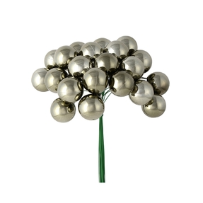 Joy Shiny Ball Pick Set of 2 Pewter