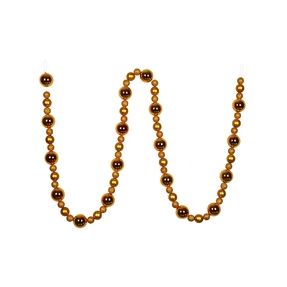 Bella Ball Garland 9' Gold