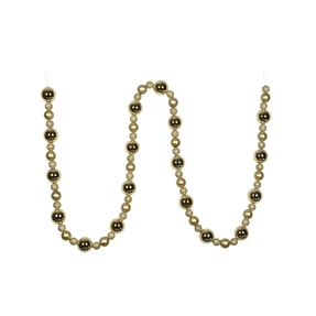 Bella Ball Garland 9' Champagne