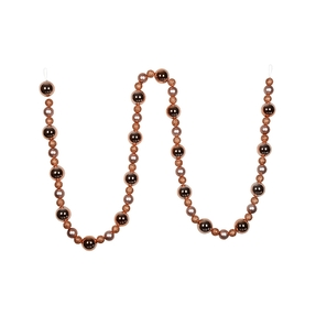 Bella Ball Garland 9' Rose Gold