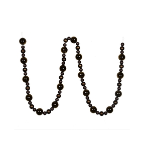 Bella Ball Garland 9' Truffle