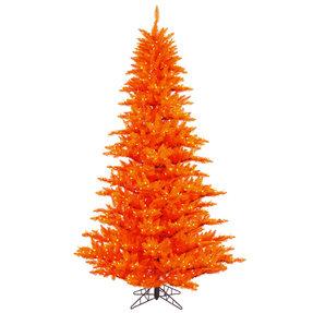 3' Orange Fir Full w/ LED Lights