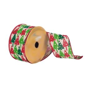 """Christmas Trees Ribbon 2.5"""""""