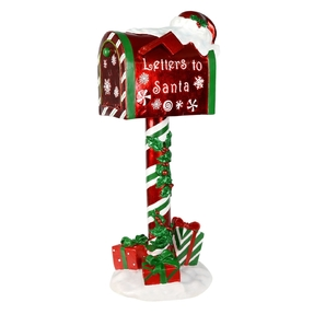 """Outdoor Letters for Santa Mailbox Figure 36"""""""