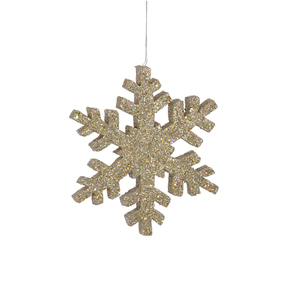"Outdoor Snowflake 18"" Champagne"