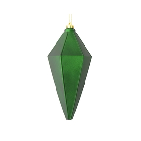 "Sonata Lantern Ornament 7"" Set of 4 Emerald Matte"