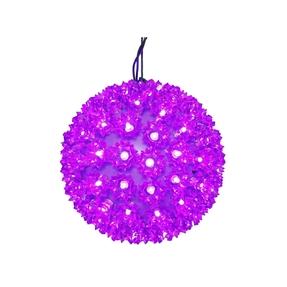 "Starlight Sphere LED Purple 6"""
