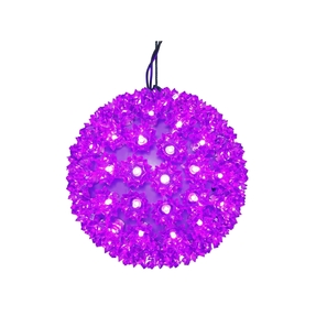 "Starlight Sphere LED Purple 10"""