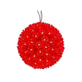 """Starlight Sphere LED Red 10"""""""