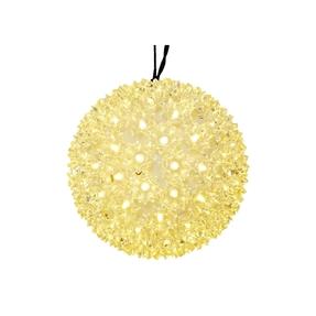 """Starlight Sphere LED Warm White 6"""""""