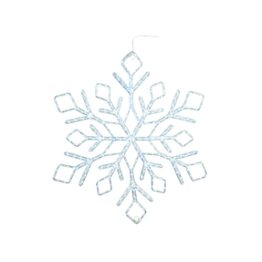 "LED Ropelight Stellar Snowflake 60"""