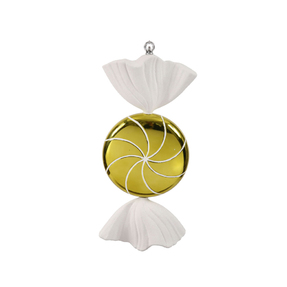 "Sugar Candy Ornament 18.5"" Lime"