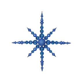 "Venezia Snowflake 43"" Blue"