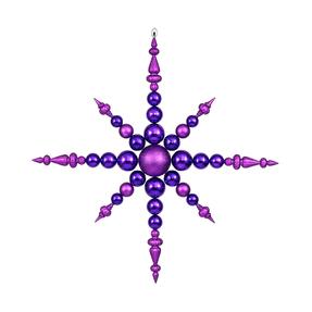 "Venezia Snowflake 43"" Purple"