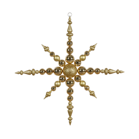 "Venezia Snowflake 43"" Gold"