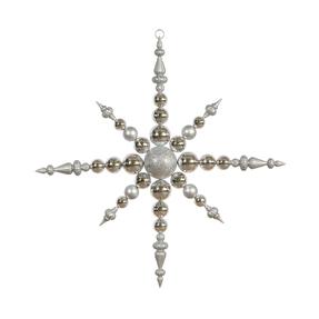 "Venezia Snowflake 43"" Silver"