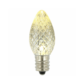 LED C7 Replacement Bulbs Set of 25 Warm White