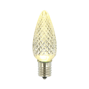 LED C9 Replacement Bulbs Set of 25 Warm White