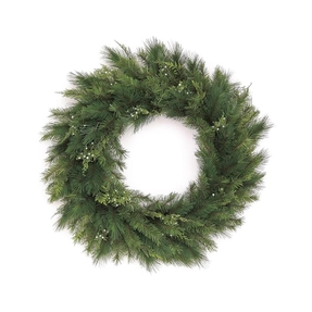 White Cedar Wreath 30""