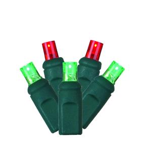 LED Wide Angle 150 Lights Set Red/Green