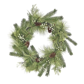 Woodland Wreath 24""