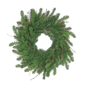 Mountain Noble Fir Wreath 24""
