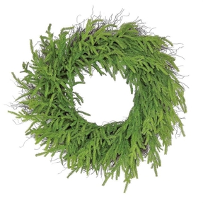 "Moss Pine Wreath 27"""