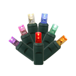 LED Wide Angle 150 Lights Set Multi Colored