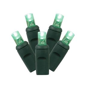 LED Twinkle 200 Lights Set Green