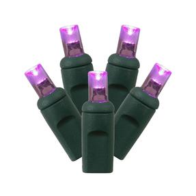 LED Twinkle 200 Lights Set Purple