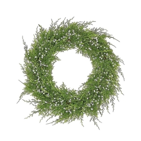 Juniper Wreath 18""