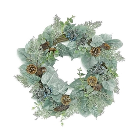 Blue Ivy Wreath 22""