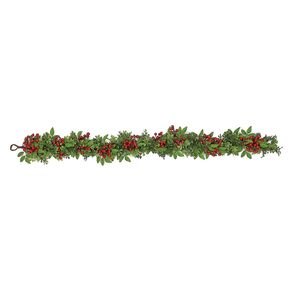 Holiday Boxwood Garland 5'