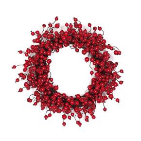 """Outdoor Rosehip Wreath 24"""""""