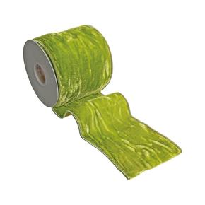 """Velvet Ribbon 4"""" Apple Green"""